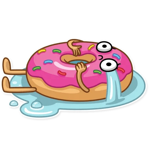 Donut and Coffe - Sticker 4