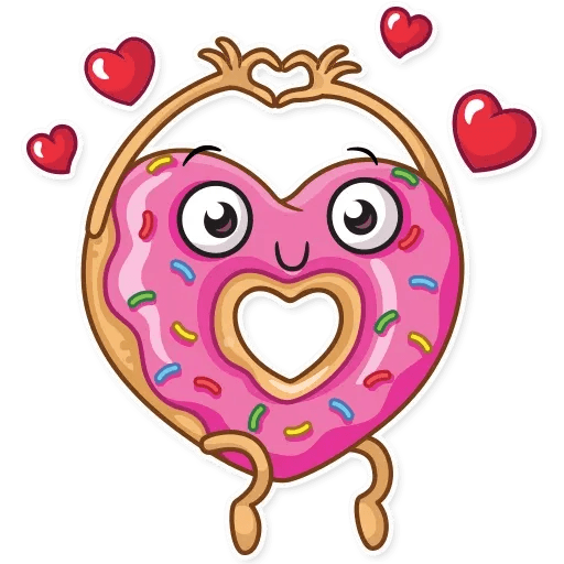 Donut and Coffe - Sticker 8