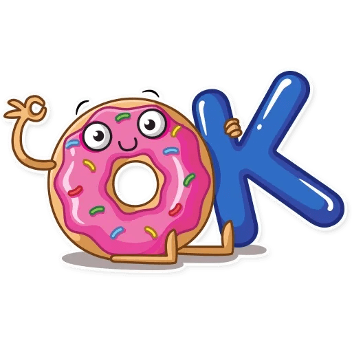 Donut and Coffe - Sticker 11