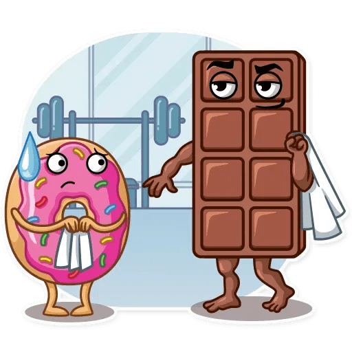 Donut and Coffe - Sticker 16