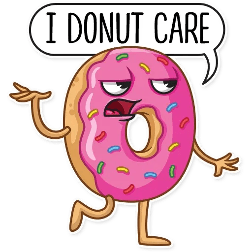 Donut and Coffe - Sticker 10