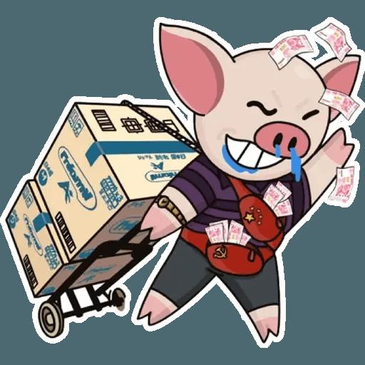 十八區連豬 - Sticker 13