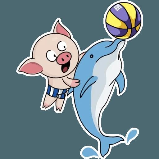 十八區連豬 - Sticker 9
