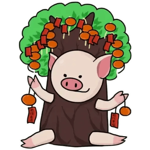 十八區連豬 - Sticker 4