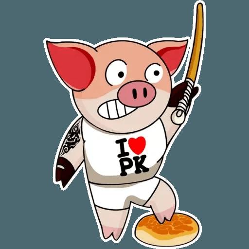 十八區連豬 - Sticker 11