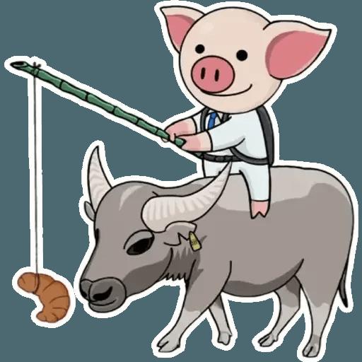十八區連豬 - Sticker 1