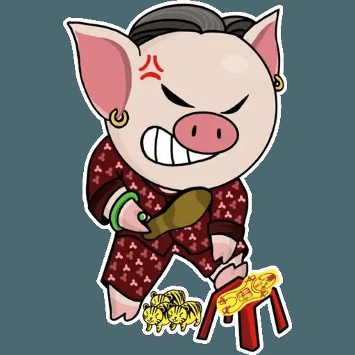 十八區連豬 - Sticker 7