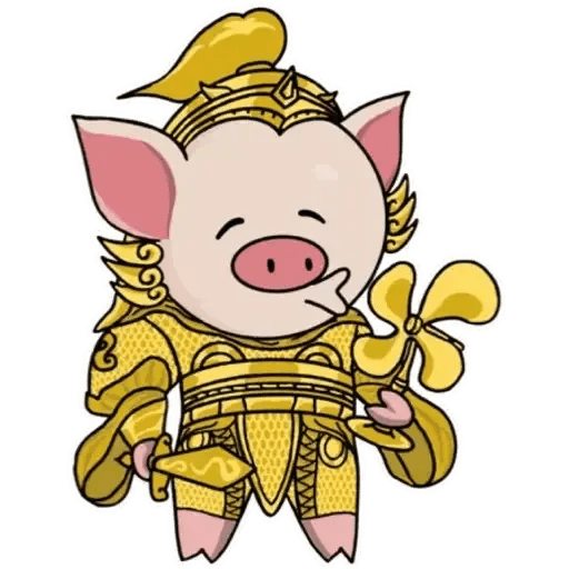 十八區連豬 - Sticker 5