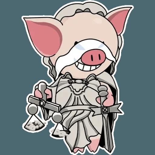 十八區連豬 - Sticker 10