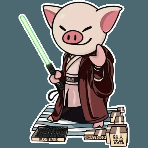 十八區連豬 - Sticker 14
