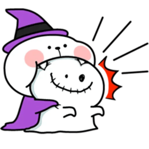 Spoiled rabbit Halloween - Sticker 7