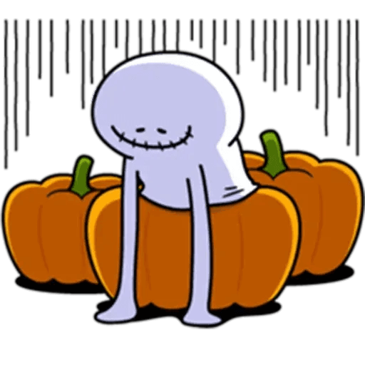 Spoiled rabbit Halloween - Sticker 11