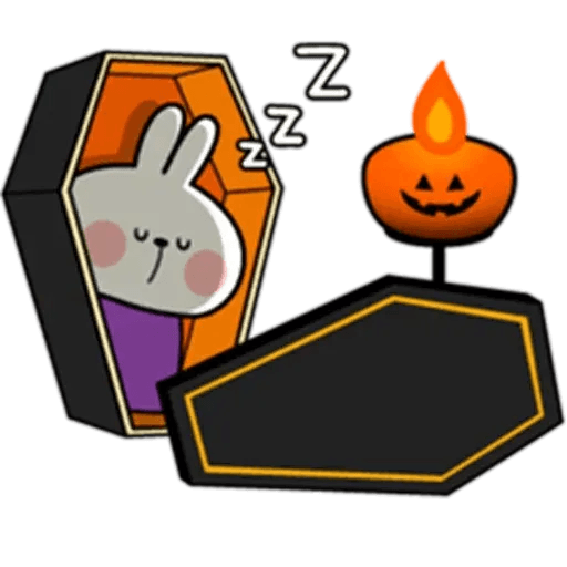 Spoiled rabbit Halloween - Sticker 21