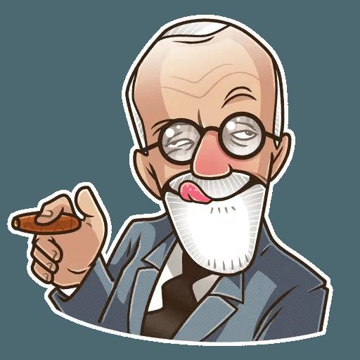 Sigmund Freud - Sticker 17