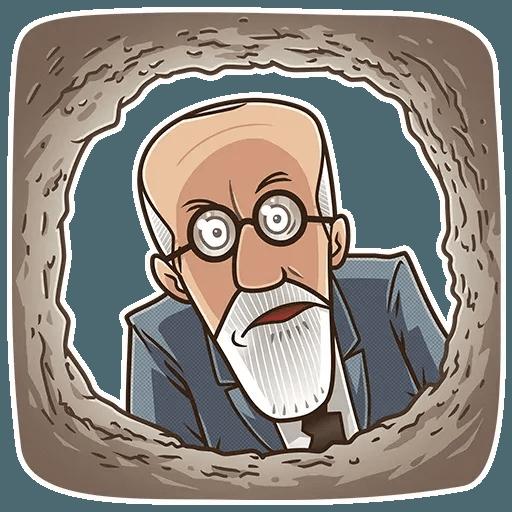 Sigmund Freud - Sticker 5