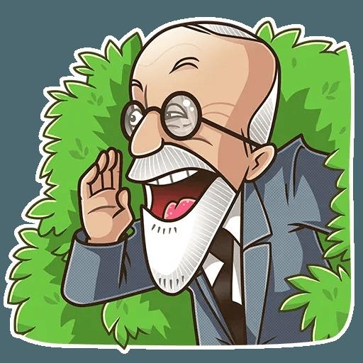 Sigmund Freud - Sticker 3