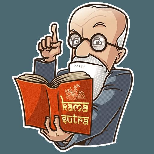 Sigmund Freud - Sticker 9