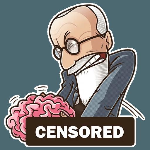 Sigmund Freud - Sticker 10