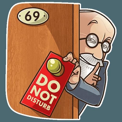 Sigmund Freud - Sticker 22