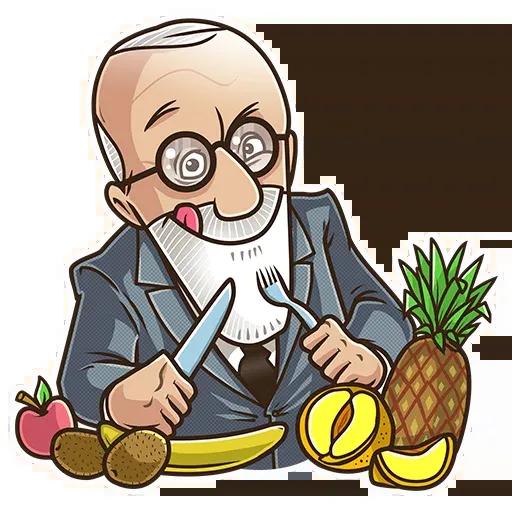 Sigmund Freud - Sticker 27