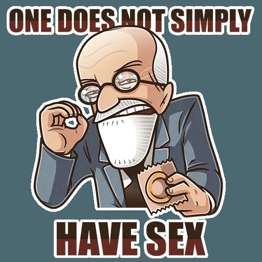 Sigmund Freud - Sticker 19