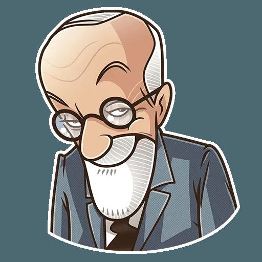 Sigmund Freud - Sticker 29