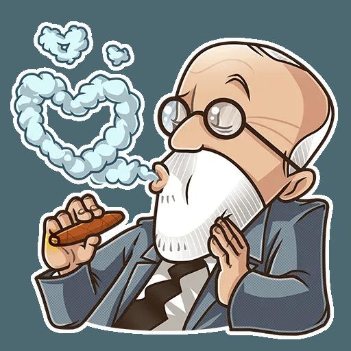 Sigmund Freud - Sticker 21