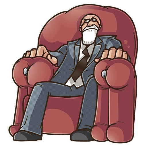 Sigmund Freud - Sticker 6