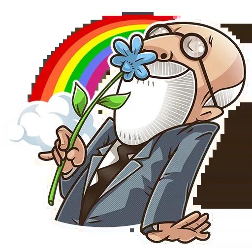 Sigmund Freud - Sticker 20