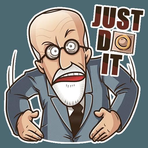 Sigmund Freud - Sticker 7
