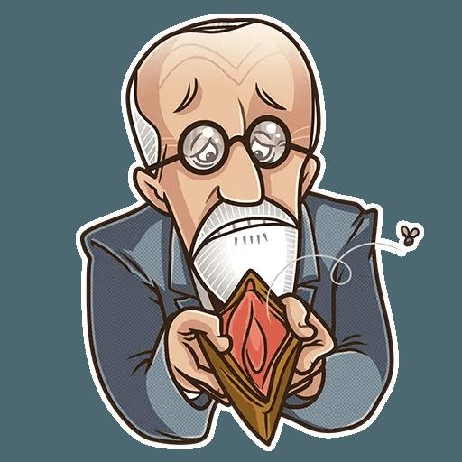 Sigmund Freud - Sticker 4