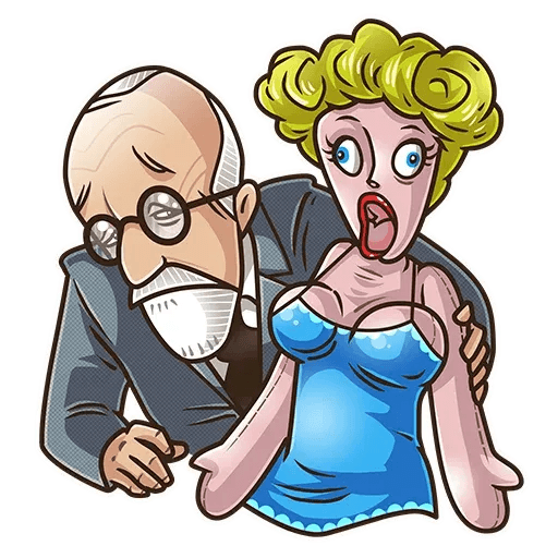 Sigmund Freud - Sticker 18