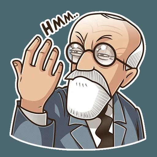Sigmund Freud - Sticker 16
