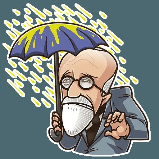 Sigmund Freud - Sticker 14