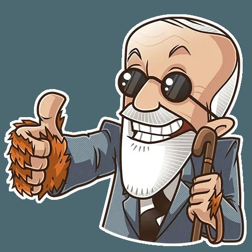 Sigmund Freud - Sticker 2