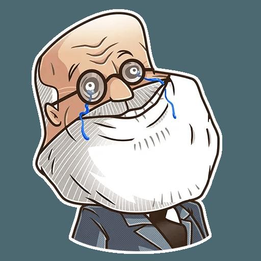 Sigmund Freud - Sticker 15