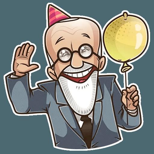 Sigmund Freud - Sticker 30