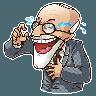 Sigmund Freud - Tray Sticker