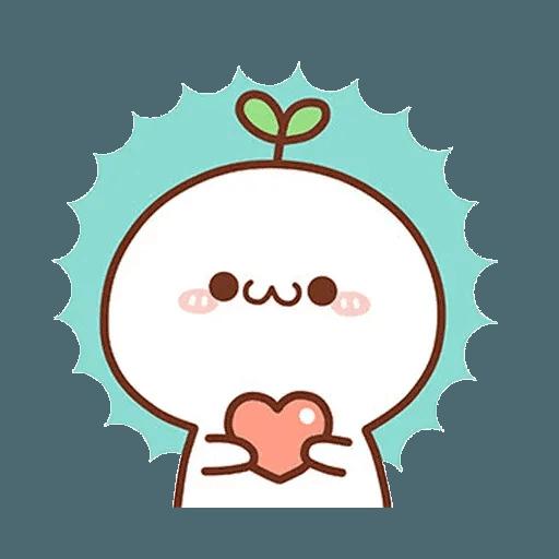 長草顏團子 - Sticker 1