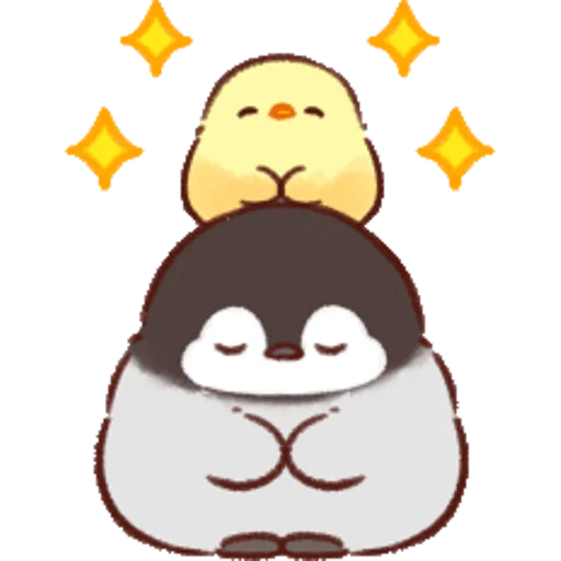 soft and cute chick 07 - Sticker 9