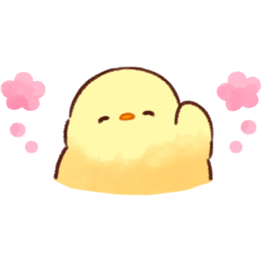 soft and cute chick 07 - Sticker 6