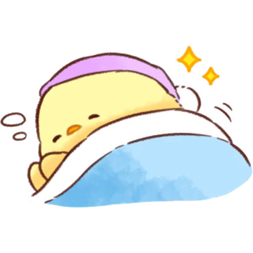 soft and cute chick 07 - Sticker 23