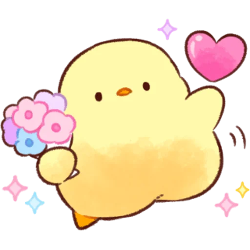 soft and cute chick 07 - Sticker 8