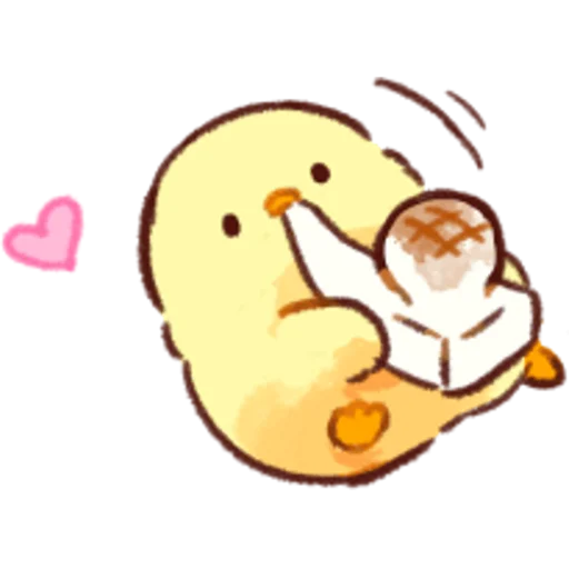 soft and cute chick 07 - Sticker 3