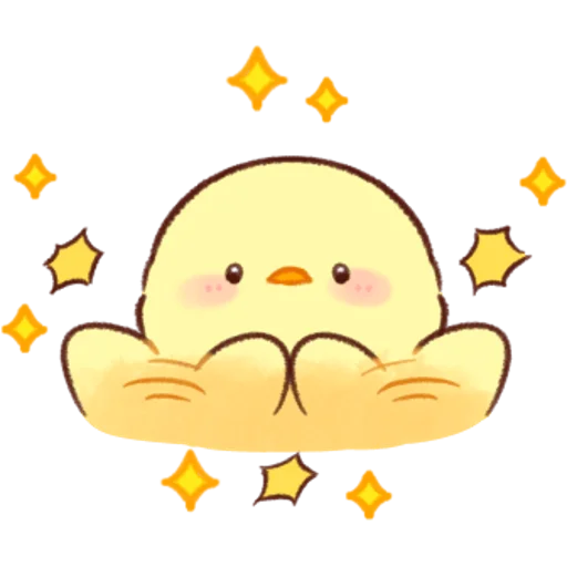 soft and cute chick 07 - Sticker 28