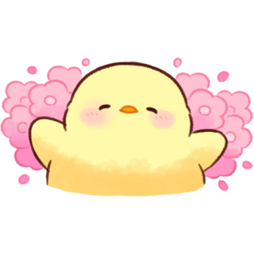 soft and cute chick 07 - Sticker 30