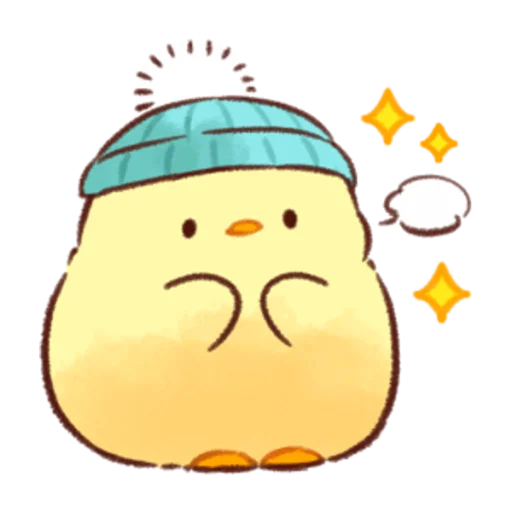 soft and cute chick 07 - Sticker 22