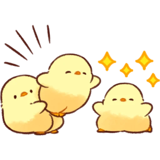 soft and cute chick 07 - Sticker 29