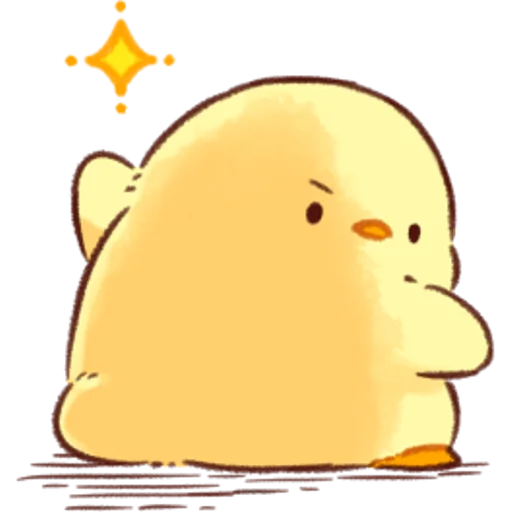 soft and cute chick 07 - Sticker 24