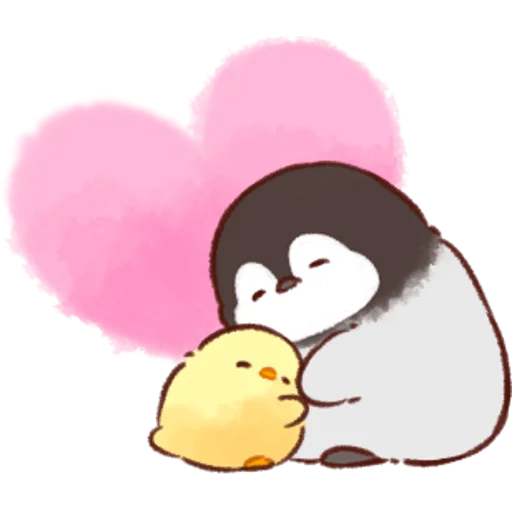 soft and cute chick 07 - Sticker 11